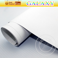 Matte White Vinyl Wrap Car Sticker Film / High Quality Carbon Sheet 1.52x30m With Air Channel Free Shipping By FedEX