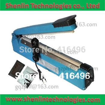 Plastic bag sealing tool,manual aluminum package sealer,electrical impulse sealing machine,handheld packaging equipment,300mm-P