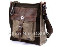 Free Shipping men bags brand handbag high fashion handbags designer  canvas bag vintage leather messenger bags for men