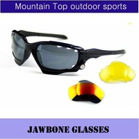 OK Jawbone Racing Jacket Cycling Outdoor Sports Sunglasses Eyewear Goggle Sunglasses 3 color lens 20 color frame
