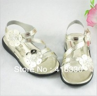 2013 popular girls shoes fashion cutout cool sandals 140-160cm