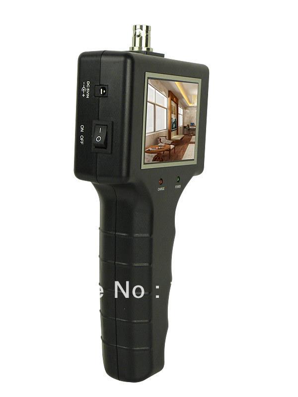 2.5 INCH CCTV tester Monitor Installation Mate Project cctv Security Camera Tester camera(China (Mainland))