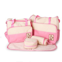 Fashion cross-body multifunctional nappy bag mummy bags infanticipate bag maternity bag baby supplies