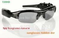 Free Shipping 4GB Hidden Camera Sunglasses Sport Camera Portable Eyewear camera dvr Sunglass Camera