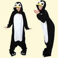 New Adult Animal Black Penguin Cosplay Pajamas Sleepwear Costume Unisex