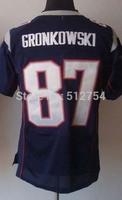#87 Rob Gronkowski Jersey,Elite Football Jersey,Best quality,Authentic Jersey,Size M L XL XXL XXXL,Accept Mix Order