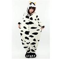 New Animal Anime  Milk Cow Animal Halloween Womens Onesie Pajamas  Cosplay Costume
