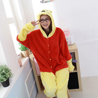 New Adult Animal Winnie the Pooth Bear Cosplay Pajamas Onesie Sleepwear Costume