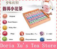 2010 year 400g 9 kinds Flavor 81pcs Chinese Pu er tea Pu'erh health care slimming Puer tea pu'er China the tea puerh small bags