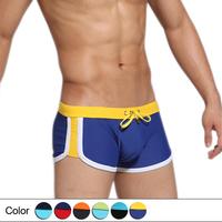 Mens Fashion Designer Swimwear Nylon Trunk Swimming for Male (Size:S M L XL)-Free shipping