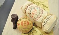 2002 Premium Yunnan puer tea,Old Tea Tree Materials Pu erh,100g Ripe Tuocha Tea