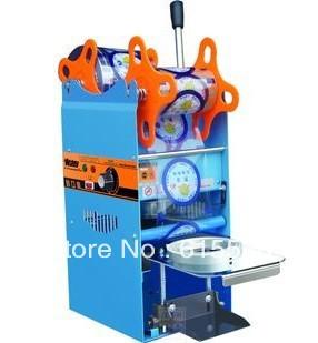 HIGH QUANTILY Cup sealing machine,manual cup sealer+free shipping(China (Mainland))
