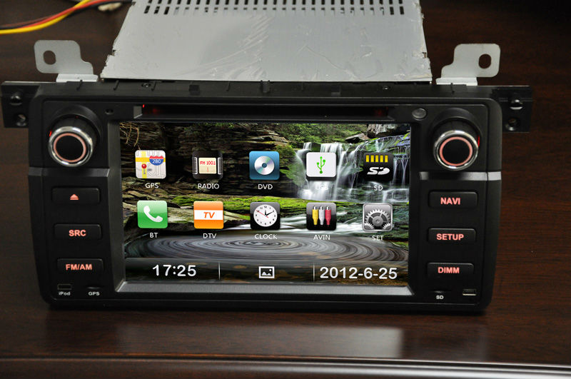 Free Shipping In-dash Car stereo dvd GPS Navigation, PIP, iPod, bluetooth, 3G, Dual Zone for BMW E46(1998-2006)/X3/Z3/Z4(China (Mainland))