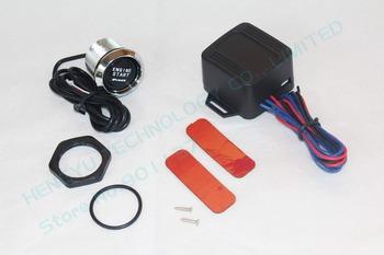 5 pcs/lot universal auto car keyless entry system led illumination engine ignitionpush start button starter kit free ship MES-2