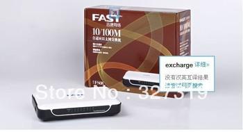 Freeshipping WHOLESALE RETAIL NEW 8 Ports 10/100 Fast Ethernet LAN Network Switch Hub RJ45