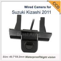 "728*582 night vision car parking camera Waterproof  HOT 1090K Car Rearview Camera Wired CCD 1/3""  for Suzuki Kizashi 2011"