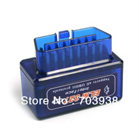 Super Mini ELM327 v1.5 OBD2 OBDII Bluetooth Adapter Auto Scanner Works On Android Torque Free Shipping
