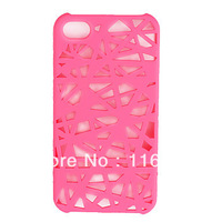 Unique Mesh Protective Case for Phone 4 Pink/Blue/Brown