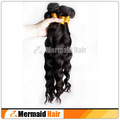 Mermaid Hair Full and Thick Natural 1b Color Loose Wave Virgin Brazilian Hair 4pcs lot Human Hair Extension