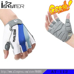 Free Shipping Half finger Gloves With Silicone Bicycle Cycling Gloves(China (Mainland))