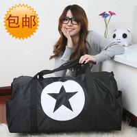 women's nylon handbag large capacity travel bag one shoulder ladies waterproof foldable bags