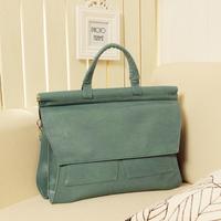 Women's vintage cross-body bag shoulder bag brief stylish fashion ladies candy color large size handbags