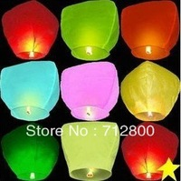 10pcs/ot Outdoor Lanterns Weddings & Birthday Sky lanterns & Chinese Kongming lantern Gift For You And Your Family