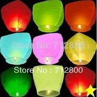 10pcs/ot Outdoor Lanterns Weddings & Birthday Sky lanterns & Chinese Kongming lantern Gift For You And Your Family FL1002