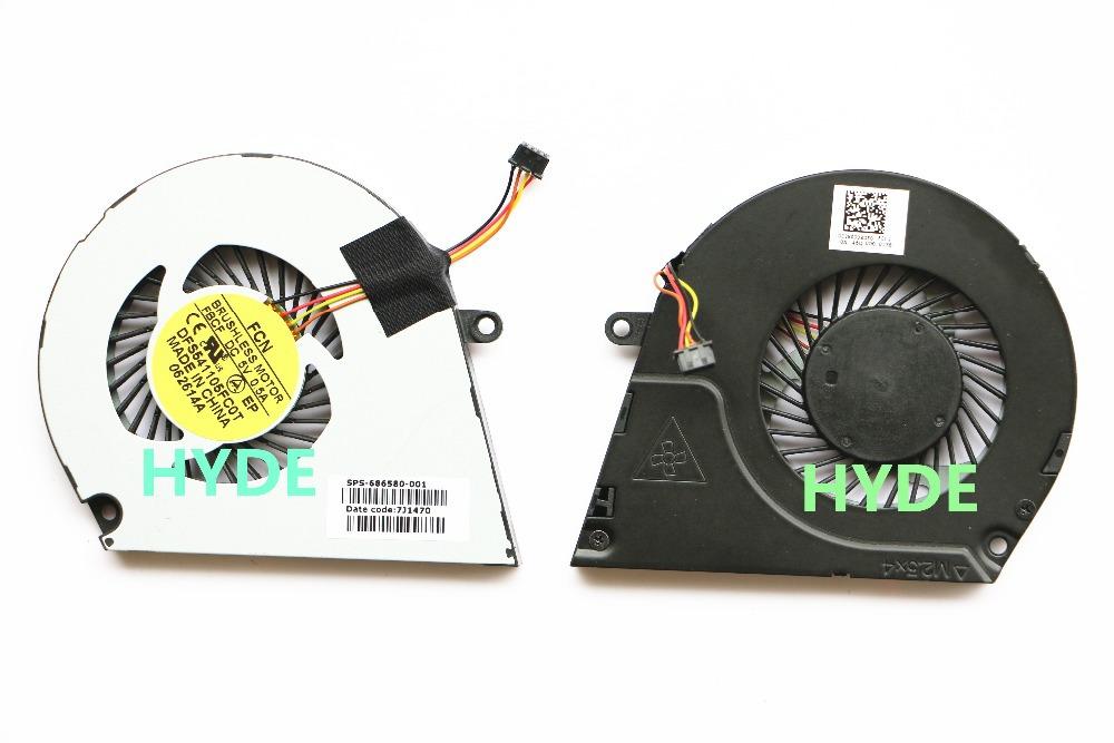 Охлаждение для компьютера DFS541105FC0T FBCF DC5V 0.5A sps/686580/001 HP Envy4 ENVY6 top quality for hp laptop mainboard envy4 envy6 708977 001 laptop motherboard 100