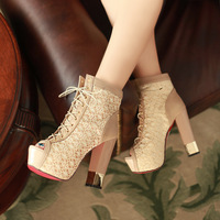 2013 newest fashion women shoes summer sandals brand platform sandals sexy thick high heels shoes open toe sandals Free shopping