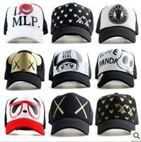 1Pcs Freeshipping High Quality Designer Snapback Baseball Caps Adjustable Sports Hats, 2013 new mesh truck Baseball hat kc,