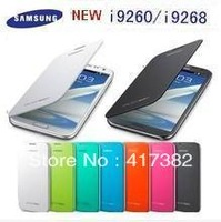 New! Back cover flip leather case battery housing case for Samsung I9260 I9268 GALAXY Premier,1pcs/lot,free shipping
