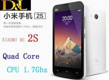 Xiaomi M2s Phone 2GB RAM 16/32GB ROM Retina IPS Screen 322PPI  Quad Core CPU 1.7Ghz  OTG+HDMI+8.0MP Camera
