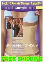 2014 New 100% Qualified Invisible Tummy Trimmer Bodysuit Slimming Belt Waist Cincher, lim & Lift Body Waist Shaper for Women