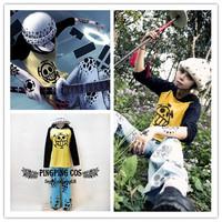 One Piece Cosplay Trafalgar Law Cosplay Costume Suit Anime Cosplay - Clothing+Hat S M L XL XXL XXXL(Free Shipping).