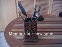 Fashion accessories wood tea shovel tea barrel tea ceremony group