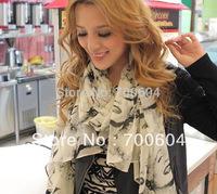 Fashion Style Designer Brand gauze Silk mullmull Chiffon  Marilyn Monroe Spring & Summer Woman Shawl Wrap Scarf, Beach Towel