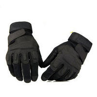 High Quality Blackhawk Full Finger Gloves Super-Fibre Fabric Tactical Gloves,Military Wargame Outdoor Glove,Free Shipping!