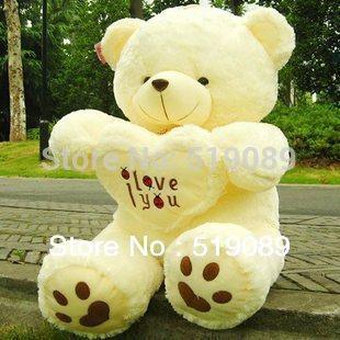 wholesale 50cm Teddy Bear Plush Toys, Giant Stuffed Bear Plush Toy For Girl Friend/Children ,Christmas Gifts(China (Mainland))