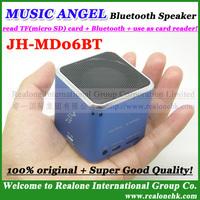Upgraded version JH-MD06BT02 Bluetooth Speaker original  MUSIC ANGEL  mini speaker  mini sound box,support TF card player