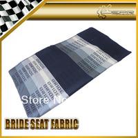Graduation Color Bride Car Seat Fabric Cover Cloth For Racing Car Seat 150cm x 80cm JDM GTR GTS RALLY DRIFT
