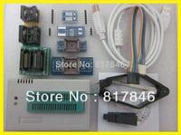 Free shipping Russia files V6.0 SOP8 Clip+TL866A USB Universal Programmer MiniPro High Speed true+9IC Adapter Socket