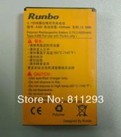 Original Battery for Runbo X5 Runbo X5 King Runbo Q5 Runbo X6 4200mAh Polymer Li-ion Singapore Post Free Shipping