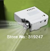 """Drop shipping Portable Mini HD LED Projector 60"""" Cinema Theater, PC Laptop VGA input mini projetor"""