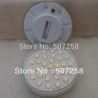 Free shipping via FedEx (50pcs/lot) GX53 LED light bulb lamps cabinet lights, 30pcs5050SMD, epistar/cree chip, 220v 7w (201303)