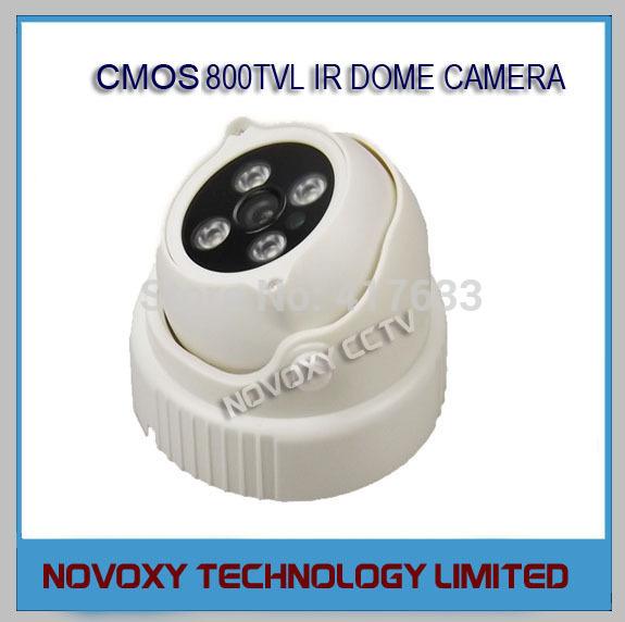 Камера наблюдения Novoxy 1/3 CMOS 800TVL 3.6/6/8/12mm CCTV SK-ZL1280CL