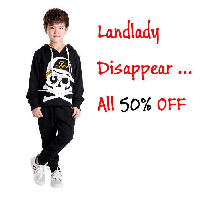 Nouveau style cool livraison gratuite de printemps garçons avec capuchon guru tête à capucheimprimé t- shirts, k0350
