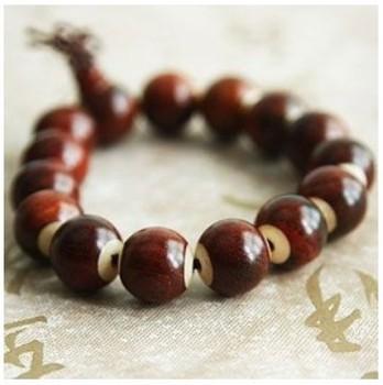 Hot-selling Quality Rosewood Edging Elastic Rope Prayer Wooden Beads Bracelet Bangle Vintage Jewelry Wholesale Free Shipping