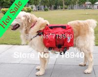 Large dog backpack pet bag folding dog bowl wellsore backpack