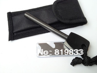 Hot Sale! Replacement Survival Magnesium Flint Stone Fire Starter,1 piece,Free Shipping!